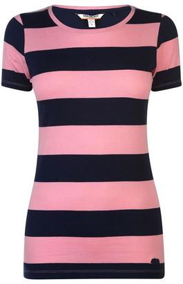 Soul Cal Soulcal SoulCal Stripe T Shirt Ladies