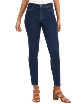 Style&Co. Style & Co Uptown Dark-Wash Skinny Jeans, Created for Macy's
