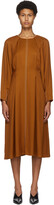 Thumbnail for your product : PARTOW Orange River Mid-Length Dress