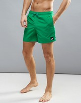 adidas Solid Swim Shorts In Green BJ8783