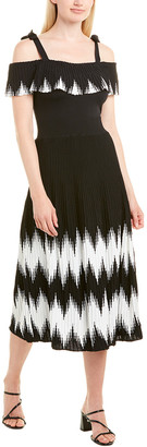 Allison Textured Knit Midi Dress