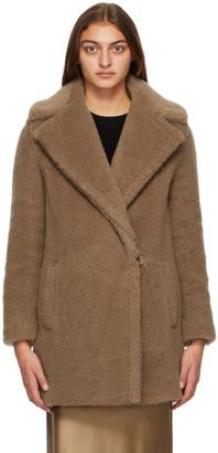 Max Mara Brown Wool Orchis Coat