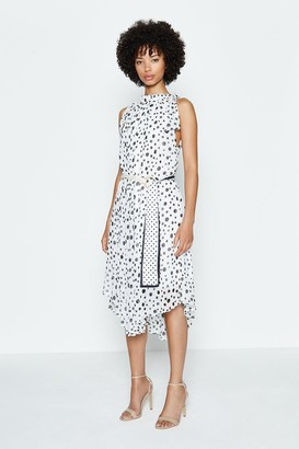 Coast Spotty Belted Midi Dress
