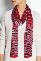 Missoni Crochet-knit scarf