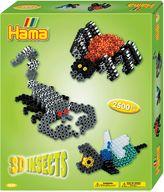 Hama beads 3D Bugs Set