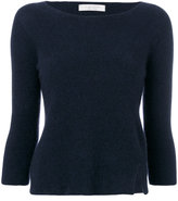 D-Exterior D.Exterior - cropped jumper - women - Nylon/Spandex/Elastane/Wool/Yak - XS