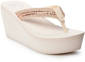 So Bubbly Women's Wedge Sandals