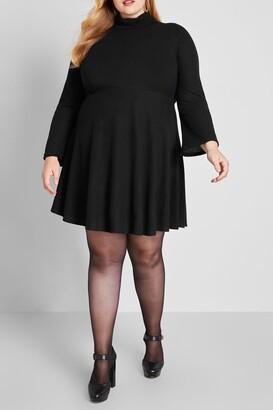ModCloth Idyllic Arrangement Sweater Dress