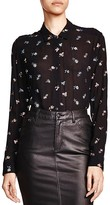 The Kooples Flower Embroidered Shirt