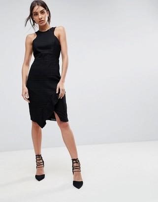 Adelyn Rae Bianca Lace Sheath Dress