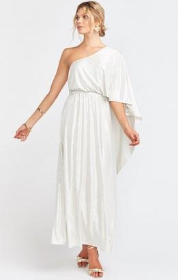 Show Me Your Mumu Celine One Shoulder Dress