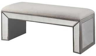 Rosdorf Park Claremore Vanity Upholstered Bench