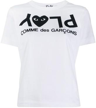 Comme des Garcons PLAY logo T-shirt