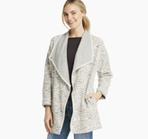 Johnston & Murphy Draped Slub-Jacquard Jacket