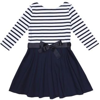 Polo Ralph Lauren Kids Striped stretch-jersey dress