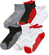 Gold Toe 6-pk. Ultra Tec Quarter Socks - Boys