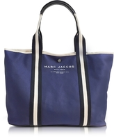 Marc Jacobs Midnight Blue Canvas EW Tote