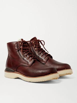 Visvim Virgil Burnished-Leather Boots