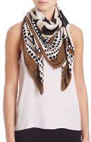 Diane von Furstenberg Ribbon-Weave Silk Scarf