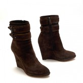 Givenchy Brown Suede Ankle boots