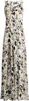 A.L.C. Harlan floral-print silk-crepe dress