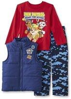 Nickelodeon PAW Patrol Infant & Toddler Boy's Vest, Shirt & Pants