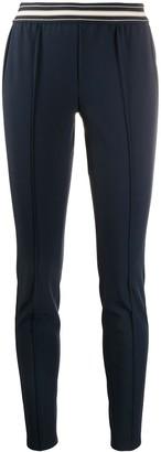 HUGO BOSS Striped-Waist Tailored Trousers