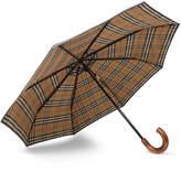 Burberry - Maple Wood-Handle Telescopic Umbrella