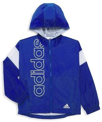adidas Boy's Crinkle Woven Jacket