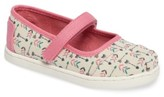 Toms Infant Girl's Arrow Print Mary Jane Flat