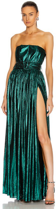 retrofete Jaden Dress in Emerald Green | FWRD