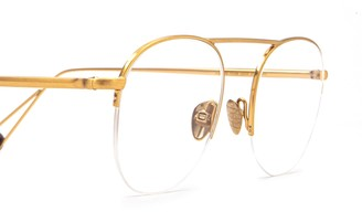 AHLEM Voltaire Rose Gold Brushed Glasses