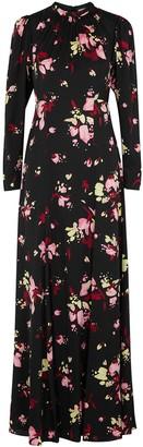 A.L.C. Murray Floral-print Silk Maxi Dress