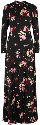 A.L.C. Murray floral-print silk maxi dress