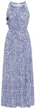 Poupette St Barth Rachel floral midi dress