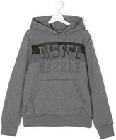 Diesel Teen Sidev hoodie - kids - Cotton - 14 yrs