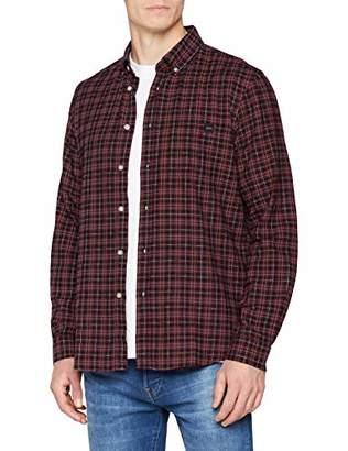 Edwin Men's Standard Shirt Casual (Oxblood Red OXR67), ((Size:M)