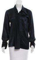 Lareida Silk Long Sleeve Blouse w/ Tags