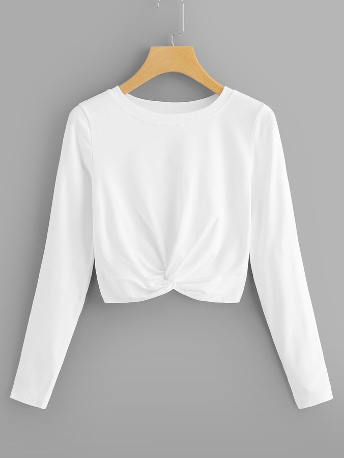 438c6b04f5 White Sexy Tees For Women - ShopStyle