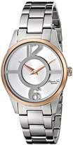"Kenneth Cole New York Women's 10019637 ""Classic"" Stainless Steel Two-Tone Watch (Amazon Exclusive)"