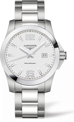 Longines Conquest Bracelet Watch, 41mm