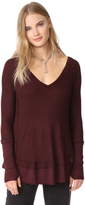 Free People Laguna Thermal Tee