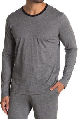 Daniel Buchler Pima Cotton Long Sleeve