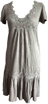 Gerard Darel Beige Linen Dress for Women
