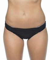 Splendid Women's Hampton Solid Reversible Retro Bikini Bottom