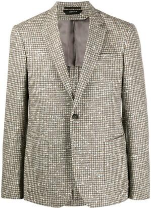 Ermenegildo Zegna Boucle Wool Blazer