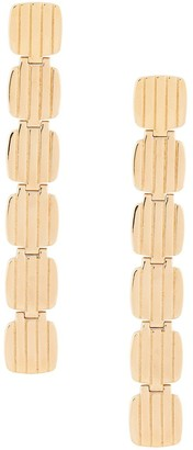 IVI Square Link Drop Earrings