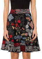 Alexander McQueen Knit Mini Skater Skirt