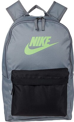 Nike Heritage Backpack 2.0 (Obsidian/Obsidian/Atmosphere Grey) Backpack Bags