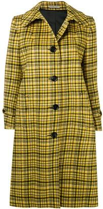 Bottega Veneta Plaid Coat